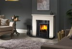 Windsor Mantel with Panamera Stove